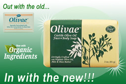 NEW! Olivae Bar Soap