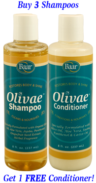 Olivae Organic Olive Oil Haircare Kit